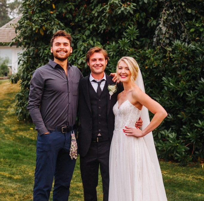 Spencer + Bridget Bellingham Wedding